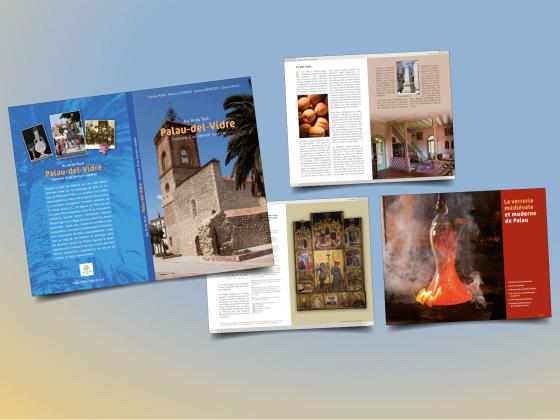"""<span style=""""color: #94ba49;"""">PALAU-DEL-VIDRE </span><br>livre sur l'histoire <br>et le patrimoine <br>"""