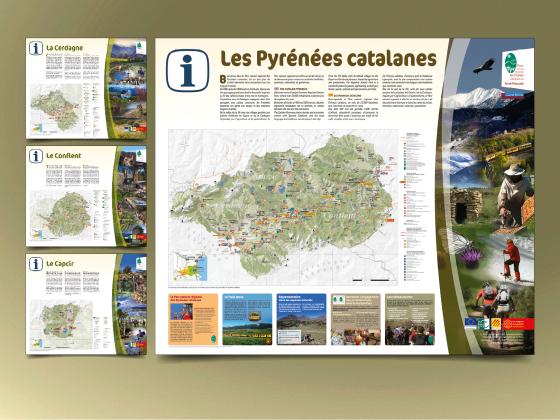 """<span style=""""color: #94ba49;"""">PARC NATUREL RÉGIONAL <br>DES PYRÉNÉES CATALANES </span><br>RIS du Parc<br>"""