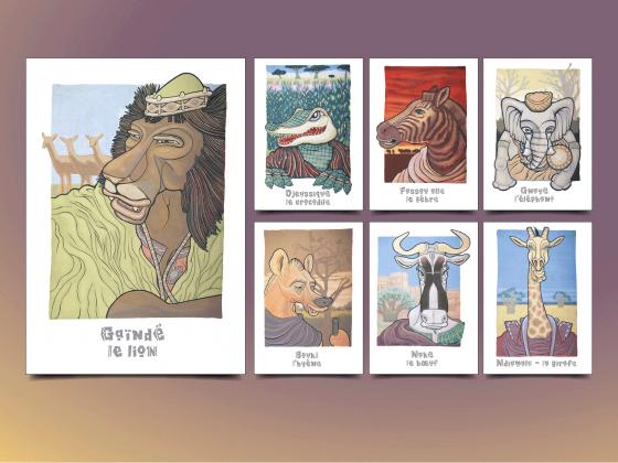 """<span style=""""color: #94ba49;"""">BIBLIOTHÈQUE DÉPARTEMENTALE <br>DE PRÊT DE L'AISNE </span><br>Animaux d'Afrique <br>"""